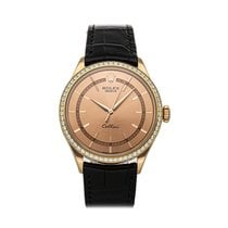 Rolex Cellini Time Rose gold 39mm Pink No numerals