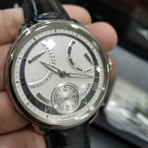 Maurice Lacroix Masterpiece Steel 46mm Silver Roman numerals Malaysia