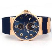Ulysse Nardin Marine Chronometer 41mm Or rose 41mm Bleu Romains