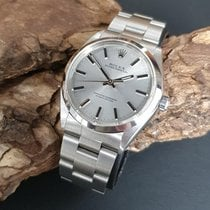 Rolex Oyster Perpetual 34 usados 34mm Plata Acero