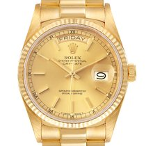 Rolex 18038 Yellow gold 1984 Day-Date 36 36mm pre-owned United States of America, Georgia, Atlanta