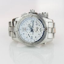 Breitling Steel Quartz White Arabic numerals 45mm pre-owned Emergency