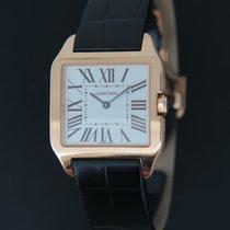 Cartier Santos Dumont Pозовое золото 31mm Cеребро