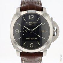 Panerai PAM 320 PAM 00320 Acero 2014 Luminor 1950 3 Days GMT Automatic 44mm nuevo