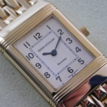 Jaeger-LeCoultre Reverso Lady Yellow gold 20mm Silver Arabic numerals