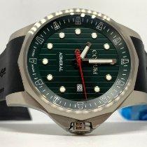 Corum Admiral's Cup (submodel) nuevo 2021 Automático Reloj con estuche y documentos originales CORUM Admirals Cup Legend 47 A411/04174