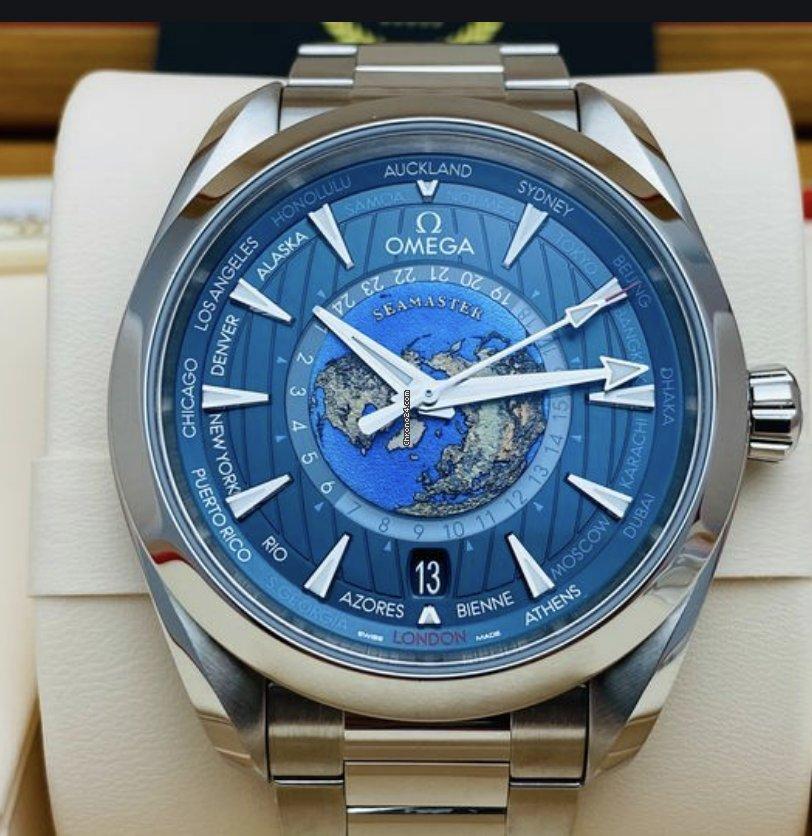 欧米茄 Seamaster Aqua Terra 220.10.43.22.03.001 全新