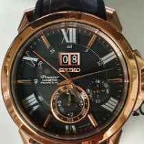 Seiko Premier Kinetic Perpetual new 2020 Automatic Watch with original box and original papers SNP146P1