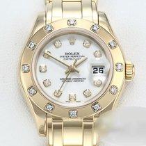 Rolex Lady-Datejust Pearlmaster 29mm Weiß Keine Ziffern Deutschland, München