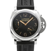 Panerai Luminor 1950 3 Days Power Reserve Acero 47mm Negro