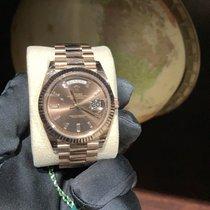 Rolex Day-Date 40 Roségold 40mm Braun