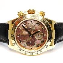 Rolex 116518 Or jaune 2005 Daytona 40mm occasion