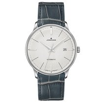 Junghans Meister Classic Steel 38.4mm Silver No numerals