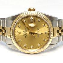 Rolex 16233 Gold/Steel 1992 Datejust 36mm pre-owned United Kingdom, Essex