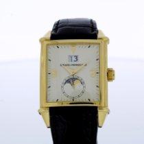 Girard Perregaux Or jaune Remontage automatique Champagne Sans chiffres 32mm occasion Vintage 1945