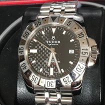 Tudor Hydronaut Steel 41mm Black No numerals