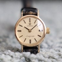 Omega De Ville Ladymatic occasion 18mm Or Cuir