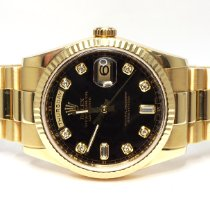 Rolex 118238 Or jaune 2010 Day-Date 36 36mm occasion