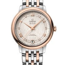 Omega Gold/Steel 32.7mm Automatic 424.20.33.20.52.003 new
