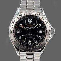 Breitling Superocean Steel Black Arabic numerals
