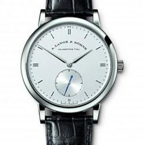 A. Lange & Söhne pre-owned Automatic 40mm White Sapphire crystal 3 ATM