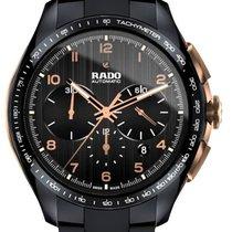 Rado HyperChrome Chronograph Сталь 45mm Черный