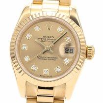 Rolex 179178G Or jaune 2005 Lady-Datejust 26mm occasion