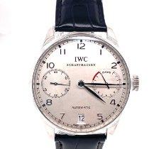 IWC Platinum Automatic Silver Arabic numerals 41mm new Portuguese Automatic