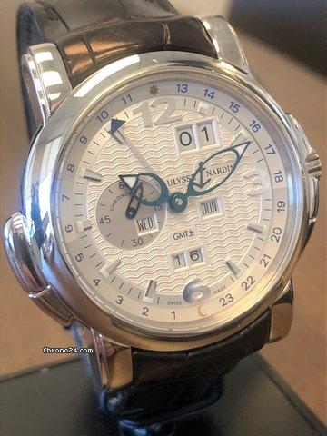 Ulysse Nardin GMT +/- Perpetual 320-60/60 pre-owned