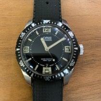 Oris Divers Sixty Five Steel 40mm Black Arabic numerals