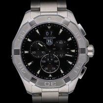 TAG Heuer Aquaracer 300M nuevo 2020 Cuarzo Cronógrafo Reloj con estuche y documentos originales CAY1110.BA0927