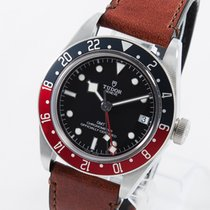 Tudor Black Bay GMT Acero 41mm Negro Sin cifras
