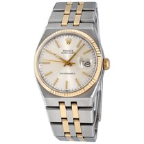 Rolex Datejust Oysterquartz Steel 36mm Silver No numerals United States of America, New York, Greenvale