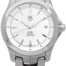 TAG Heuer Link Stahl 39mm Silber