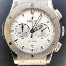 Hublot Classic Fusion Chronograph pre-owned 42mm White Crocodile skin