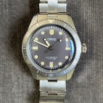 Oris Divers Sixty Five new 2019 Manual winding Watch with original box and original papers 0173077574083