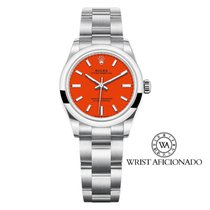 Rolex Oyster Perpetual 31 Steel 31mm Red No numerals United States of America, New York, New York