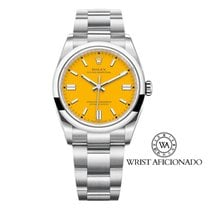 Rolex Oyster Perpetual 36 Steel 36mm Yellow No numerals United States of America, New York, New York