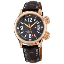 Jaeger-LeCoultre Master Compressor (submodel) Rose gold 37mm Brown Arabic numerals United States of America, New York, Greenvale