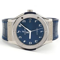 Hublot Titanium Automatic Blue 45mm new Classic Fusion Blue