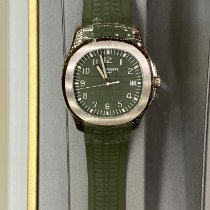Patek Philippe Aquanaut White gold 42.2mm Green Arabic numerals