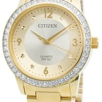 Citizen Gold/Steel 35mm Quartz EL3092-86P new