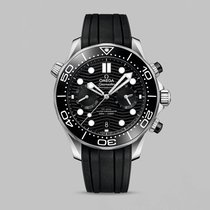 Omega Seamaster Diver 300 M Steel 44mm Black No numerals