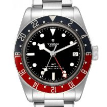 Tudor Black Bay GMT pre-owned 41mm Black GMT Steel