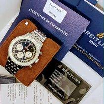 Breitling Navitimer 1 B01 Chronograph 43 gebraucht 43mm Schwarz Chronograph Datum Wochentagsanzeige Stahl