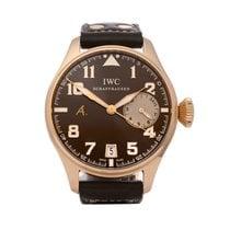 IWC IW500421 Pозовое золото 2010 Big Pilot 46mm подержанные