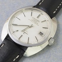 Seiko Staal 37mm Zilver