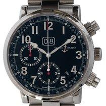 Ulysse Nardin Marine Chronograph Steel 40mm Black Arabic numerals United States of America, Texas, Austin