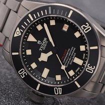Tudor Pelagos Титан 42mm Черный Без цифр