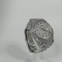 Rolex Datejust II gebraucht 41mm Schwarz Datum Stahl